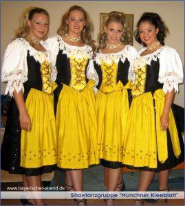 Bayerische Showtanzguppe in München, Augsburg, Ingolstadt, Nürnberg, Regensburg, Straubing. Passau, Salzburg, Zürich